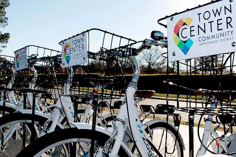 Town Center Zagster Bike Share Program Ridership Tops in the Country