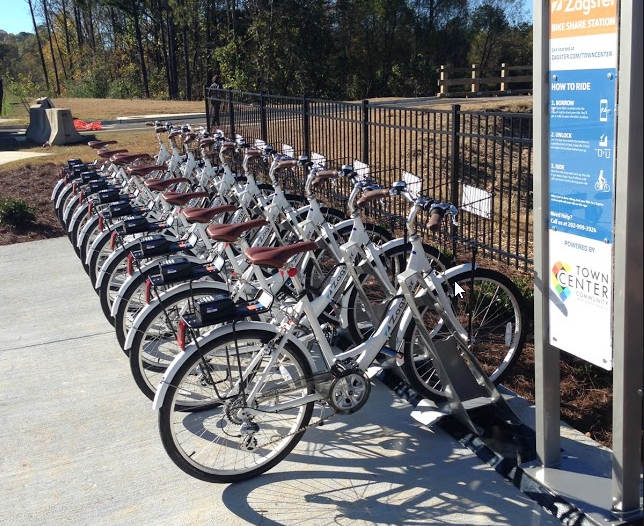 Town Center CID Bike Share Program