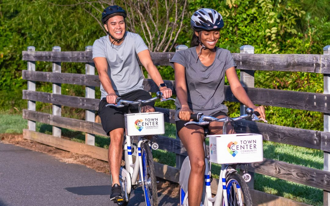 New Bikeshare Programs Launch in Cumberland and Town Center