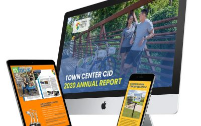 """Town Center CID 2020 Annual Report Showcases Year of """"Thinking Forward"""""""