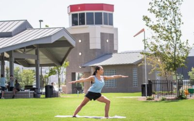 Yoga in the park summer series to begin at Aviation Park